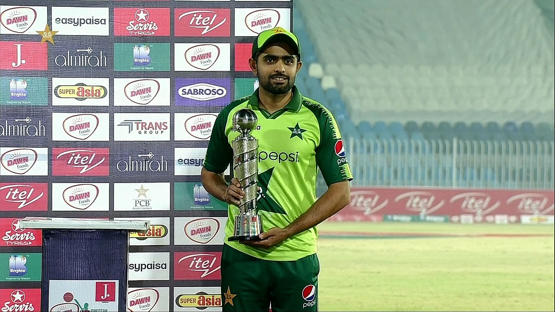 Usman Qadir Player of The Series as Pakistan Won 3rd T20I Against Zimbabwe