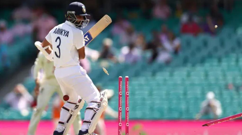 India Loses Ajinkya Rahane Early On Day 3 Against Australia