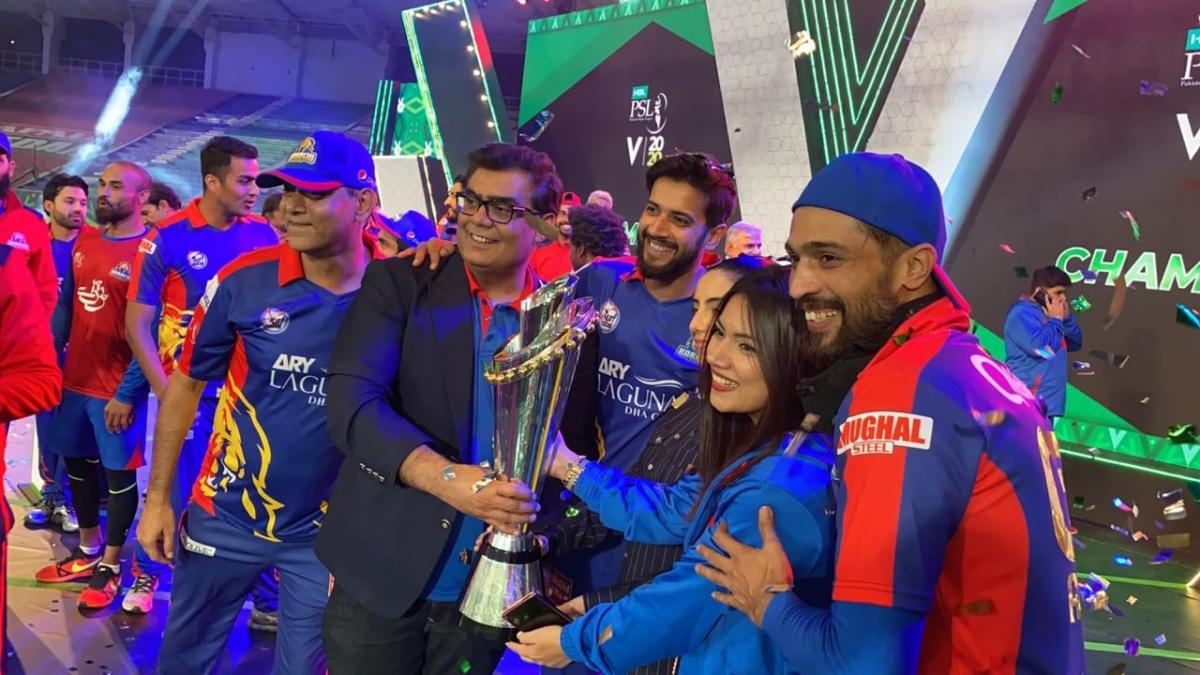 Karachi Kings PSL 5 2020 Winner