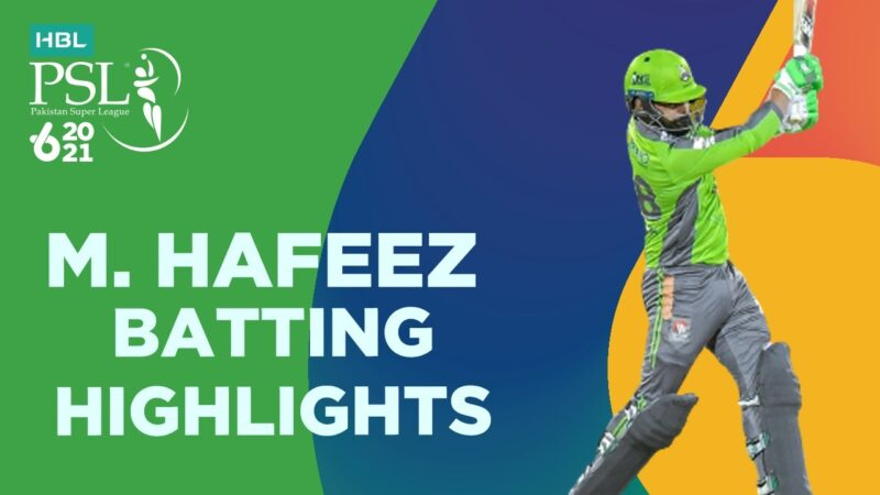 Hafeez Batting Highlights Against Quetta 73 runs