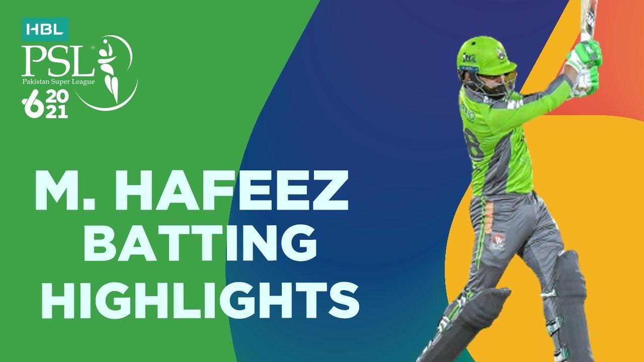 Mohammad Hafeez 73 Runs on 33 Balls against QG PSL 6 Highlights