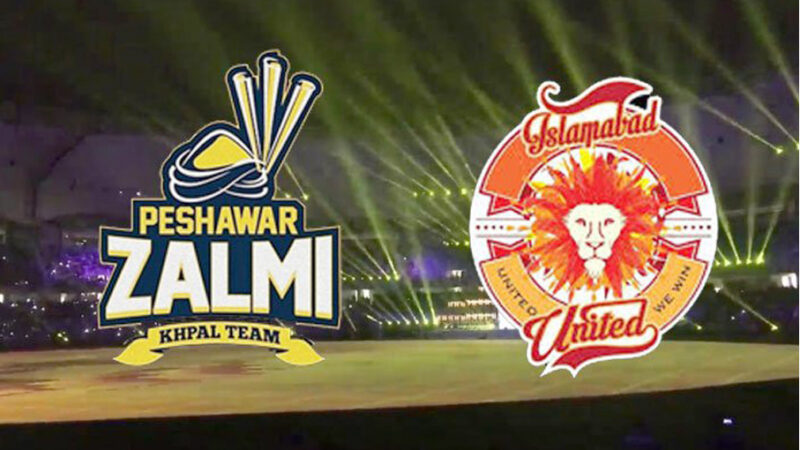 Peshawar Zalmi vs Islamabad United Live Score Update Highlights