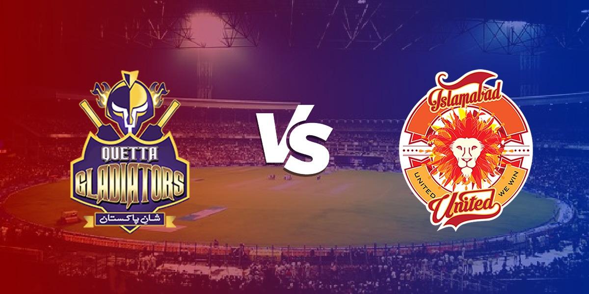 Islamabad United vs. Quetta Gladiators Match 12 – Highlights PSL 6 2021